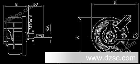 25w50r 瓷盘变阻器 可调电阻器 变阻器